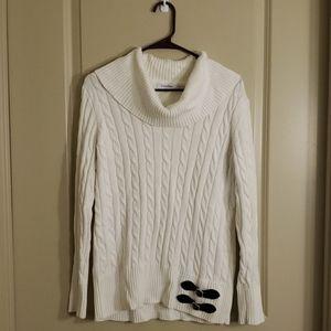 Calvin Klein Cowl neck sweater size L